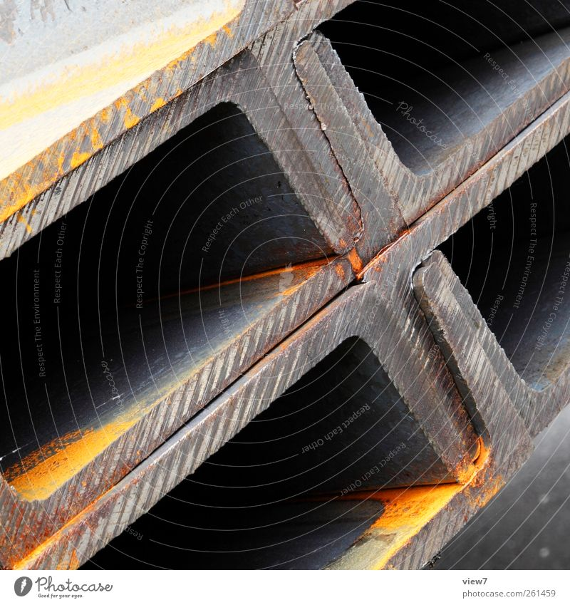 Old Metal Line Arrangement Modern Authentic Industry Construction site Industrial Photography Logistics Simple Steel Material Iron Craftsperson Quality