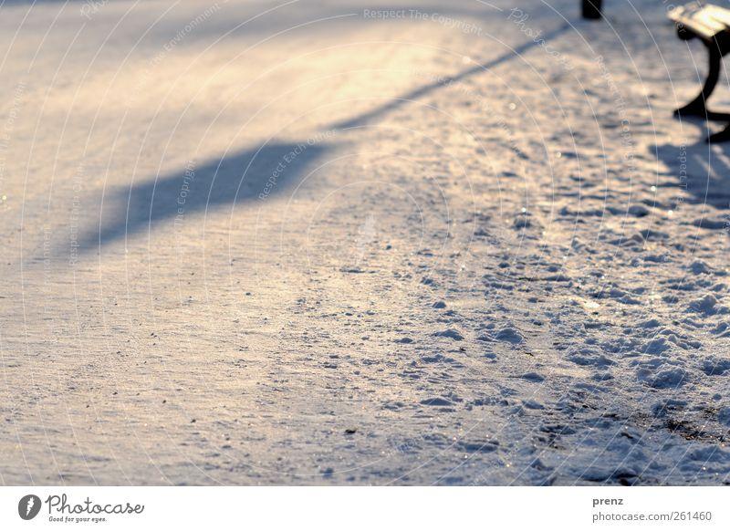 White Winter Cold Snow Lanes & trails Park Brown Lantern Park bench Lamp post