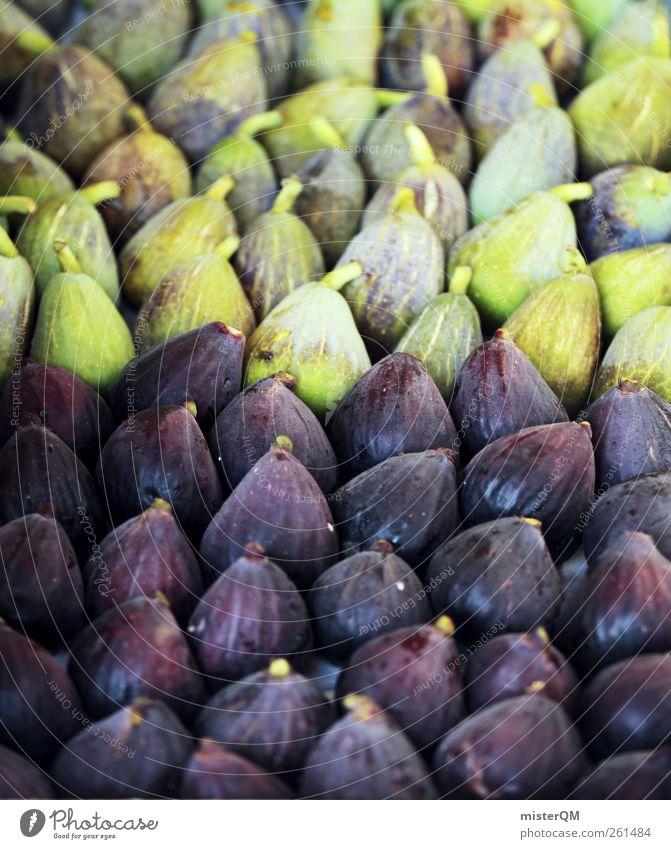 Fig salad. Food Esthetic Many Selection Healthy Eating Green Violet Vegetarian diet Fruit Delicious Bazaar Beaded Ecological Organic produce Mediterranean