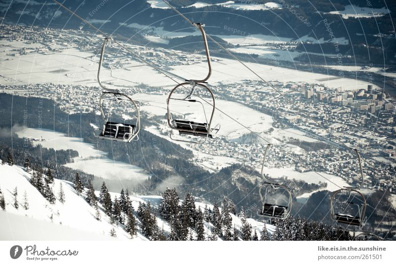 Vacation & Travel City Loneliness Landscape Winter Far-off places Forest Cold Mountain Snow Freedom Ice Leisure and hobbies Tourism Trip Adventure