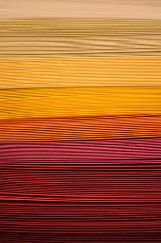 stacks Logistics Advertising Industry Decoration Paper Yellow Red Colour Arrangement Many Orange Handicraft Creativity Stationery Design Fashioned Warm colour