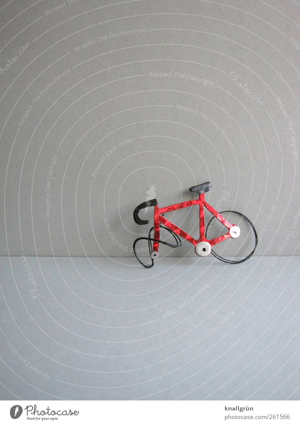 Red Black Sports Gray Bicycle Leisure and hobbies Glittering Transport Adventure Stand Broken Safety Mobility Stagnating Bend Means of transport