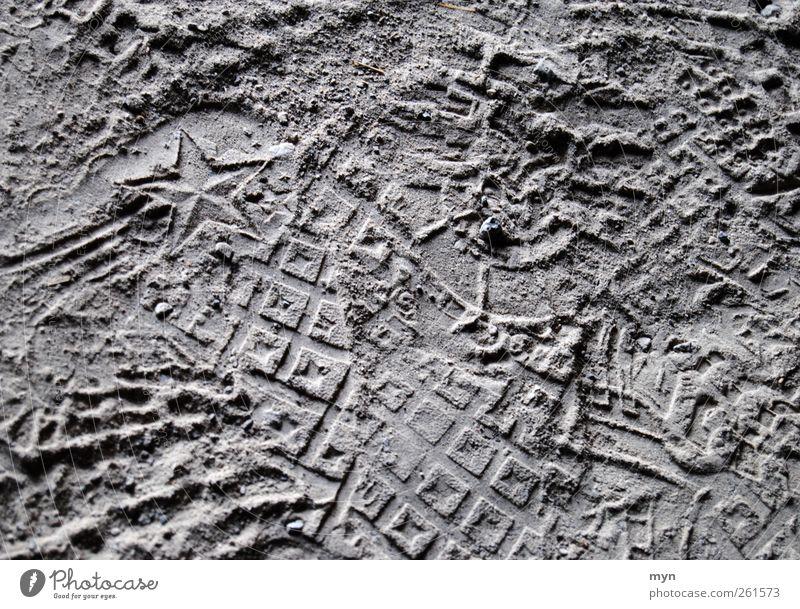 Beautiful Art Stone Feet Line Sand Dirty Esthetic Footwear Star (Symbol) Sign Near Dry Desire Tracks Under