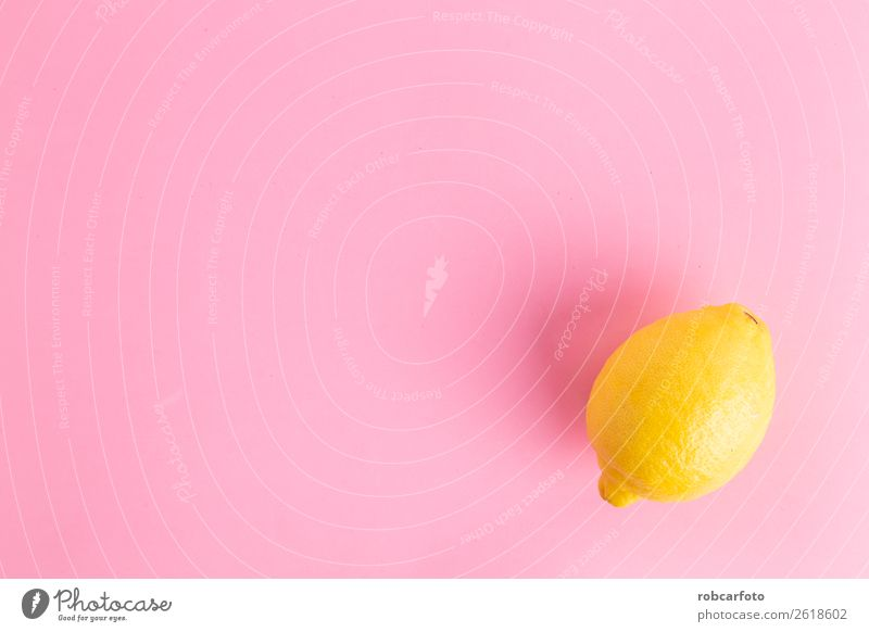 lemon in colorful background Fruit Exotic Summer Nature Leaf Fresh Bright Natural Juicy Blue Yellow Pink White Colour Creativity Lemon isolated food healthy