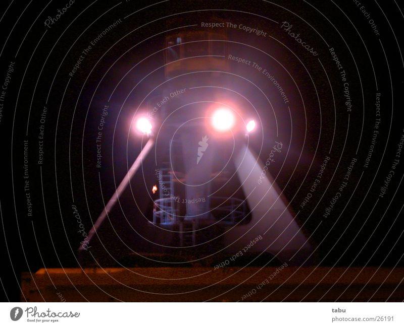 Futurism Crane Floodlight Night shot Light Driver's cab Steel construction