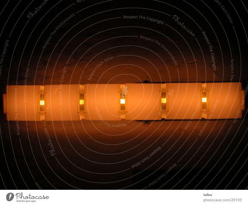Lamp Orange Design Kitsch