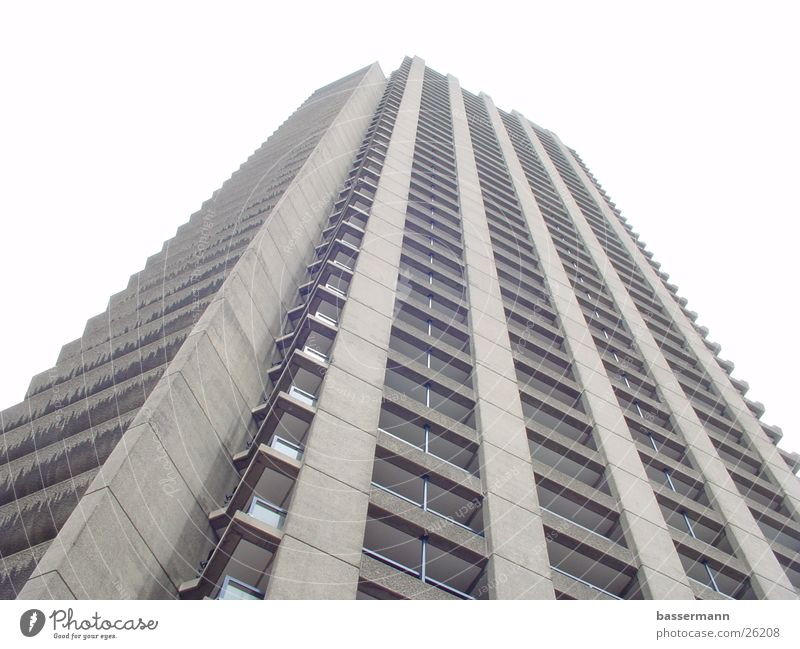 Shakespeare Tower, Barbican Centre, London High-rise Urban building Architecture Living or residing barbican Town chamberlin