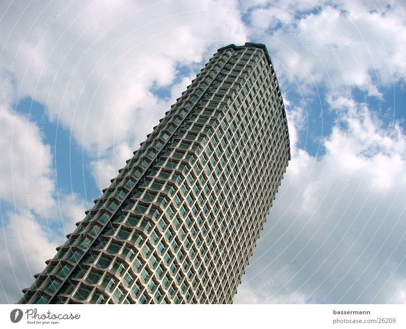 Centre Point Tower, London High-rise Sky Tottenham Court Road Soho Clouds Sixties Architecture