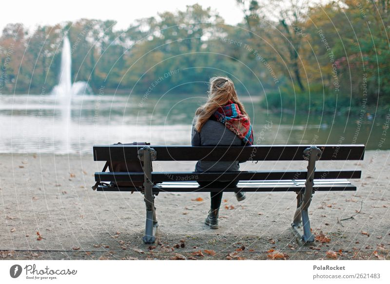#A# Autumn bench Art Esthetic Bad weather Autumnal Autumn leaves Autumnal colours Early fall Automn wood Autumnal weather Autumnal landscape Autumn storm Park