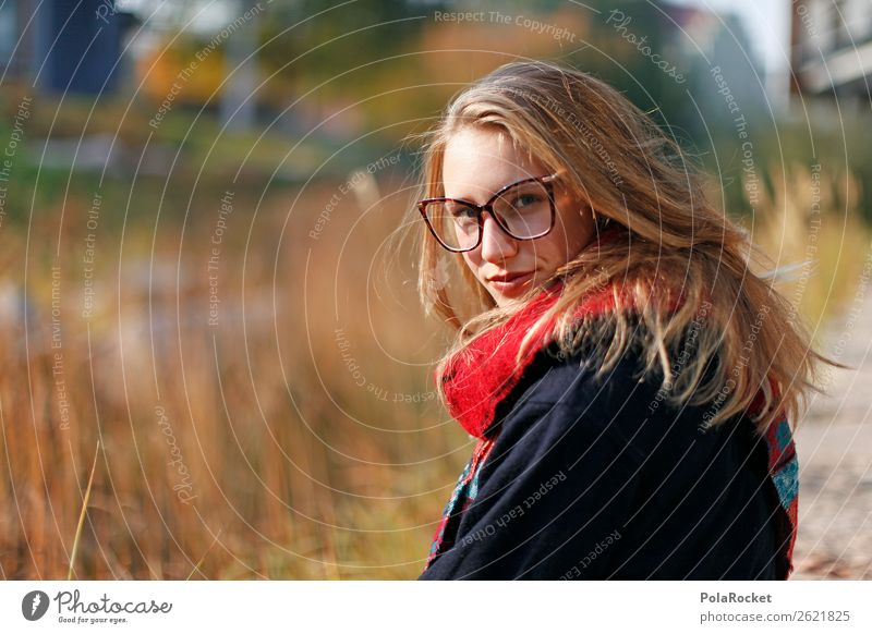 #A# UniLeben Human being Feminine 1 Esthetic Woman Academic studies Career Looking Looking into the camera Future Forward-looking Dream of the future