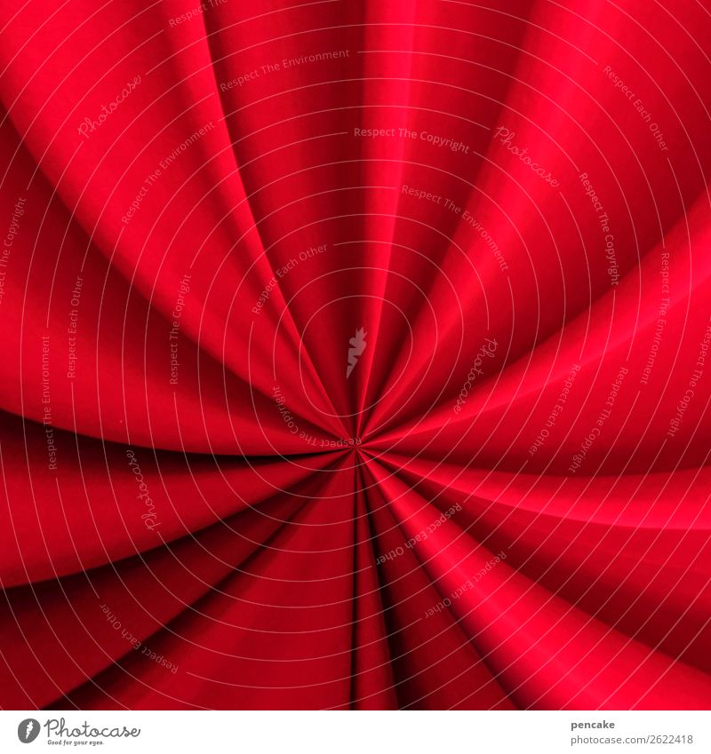 circus during the day Elegant Entertainment Event Circus Shows Esthetic Red Drape Wrinkles Cloth Colour photo Interior shot Close-up Detail Experimental
