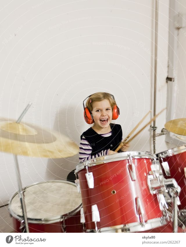 music education Percussion instrument early musical education 3 - 8 years Beat Rock'n'Roll Drum Drumstick Rehearsal room Rhythm Recording studio practice