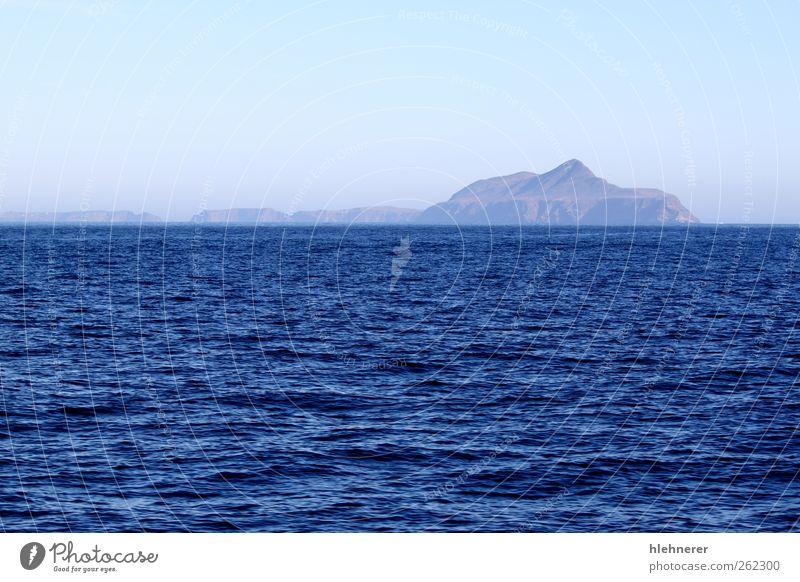 Anacapa Island Sky Nature Vacation & Travel Ocean Loneliness Coast Park Watercraft Rock Fog USA Tourist Paradise Cliff West