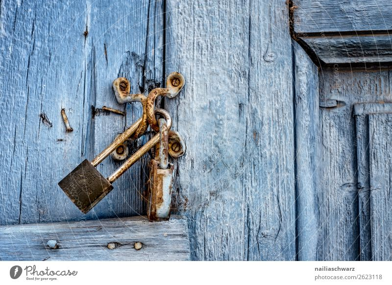 Vacation & Travel Nature Old Summer Blue Beautiful Loneliness Wood Cold Natural Sadness Metal Door Authentic Transience Broken