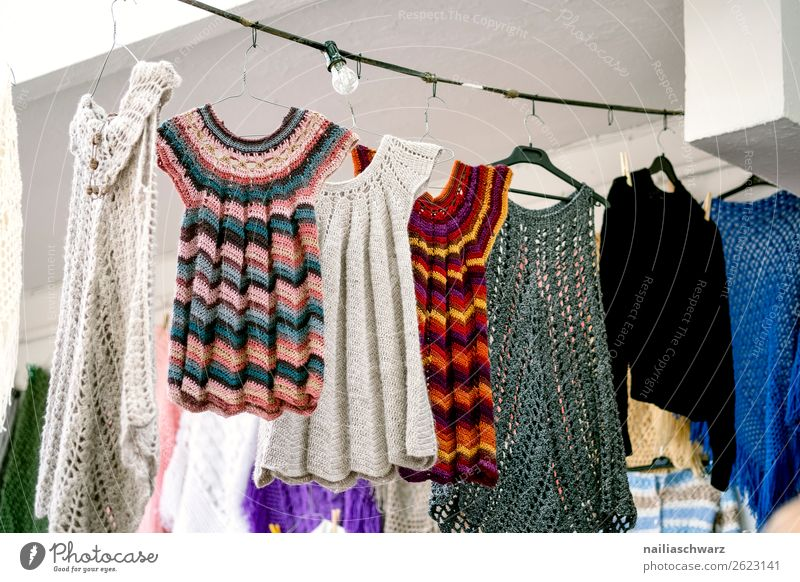 Impression of Crete in summer Lifestyle Style Knit Vacation & Travel Tourism Summer Summer vacation Nature Village Small Town Marketplace Fashion Clothing Dress