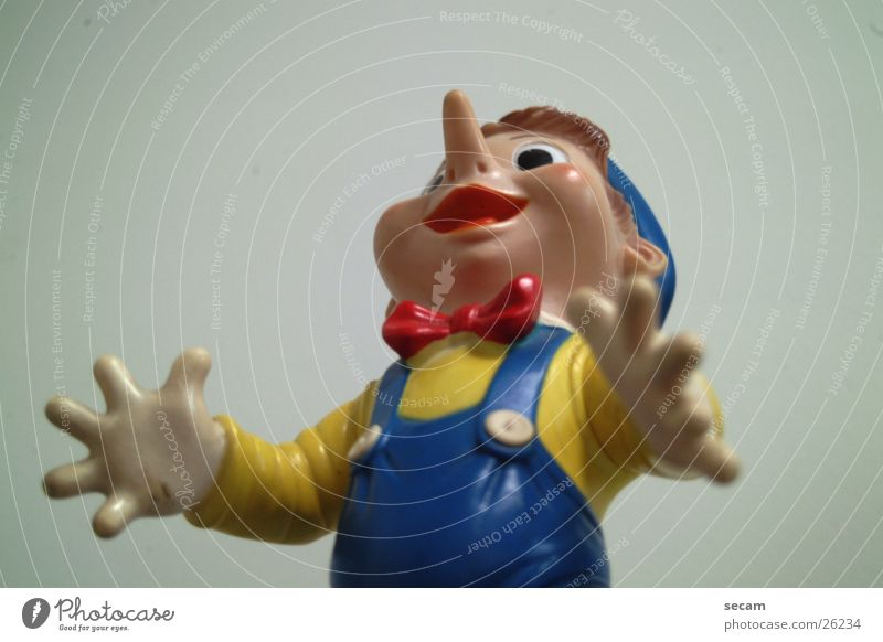pinocchio_1 Piece Toys Statue Doll Looking