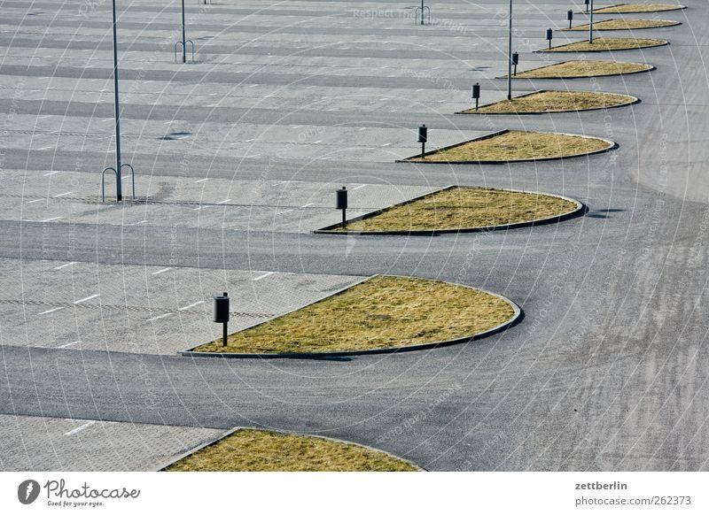 Concrete Places Free Empty Asphalt Without Parking lot Green space Urbanization