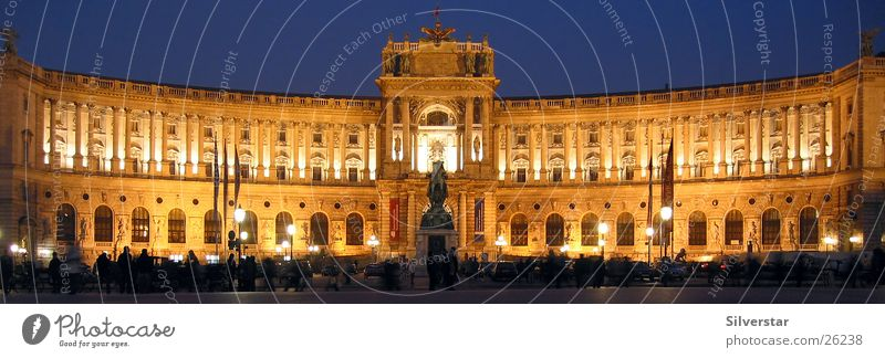 Architecture Vienna Night shot Austria Hofburg