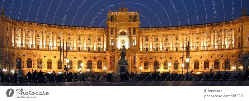 Architecture Vienna Night shot Austria Hofburg