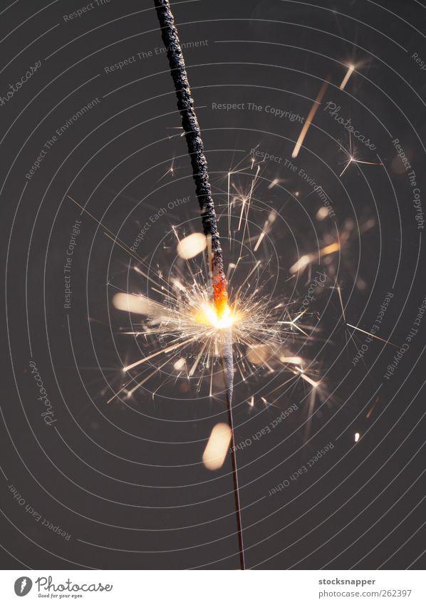 Sparkler Lighting Feasts & Celebrations Glittering Fire Burn Object photography Pyrotechnics