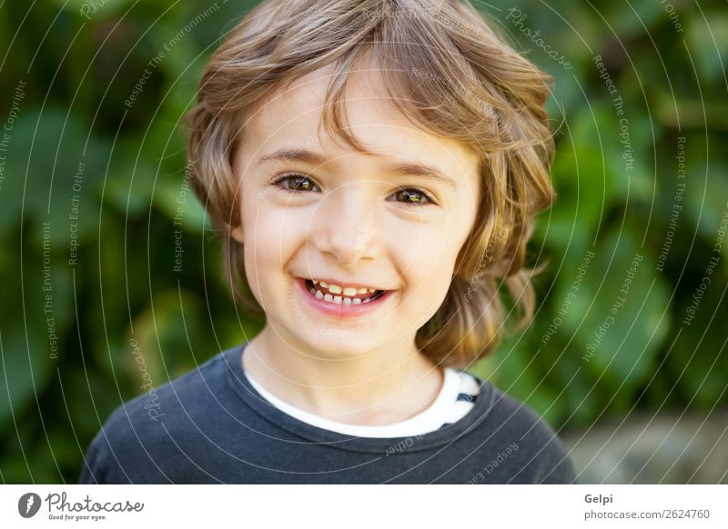 small child Child Nature Plant Colour Beautiful Green White Tree Joy Face Funny Laughter Happy Boy (child) Small Playing