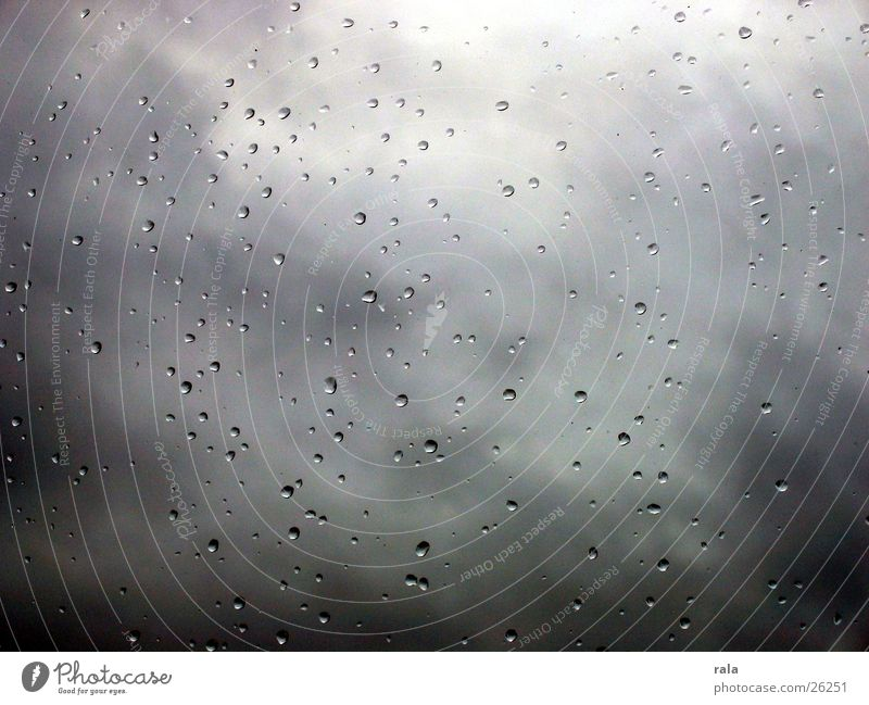 Winter Clouds Autumn Window Sadness Rain Weather Drops of water Grief Window pane Bad weather