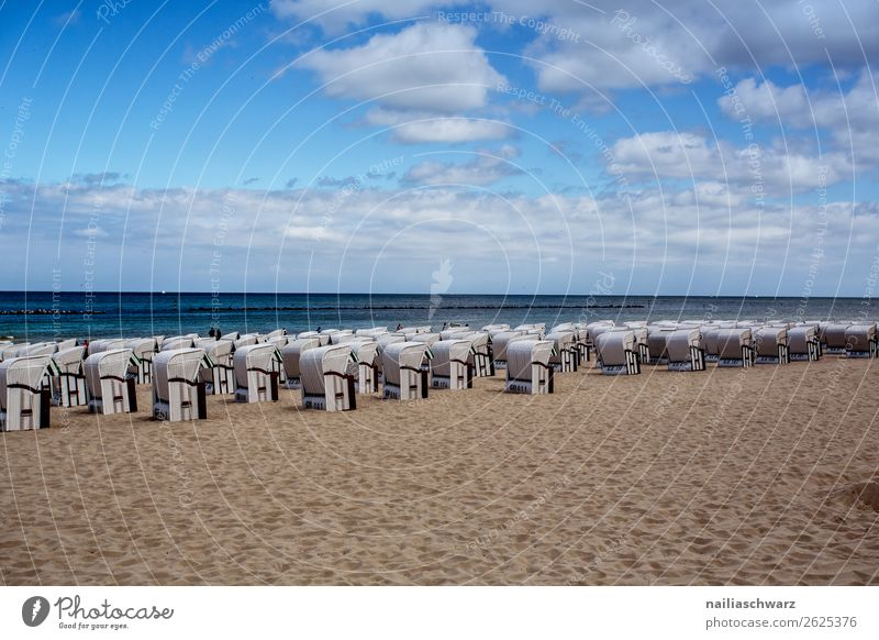 Sky Vacation & Travel Nature Summer Water Landscape Ocean Beach Environment Coast Germany Tourism Swimming & Bathing Sand Trip Horizon
