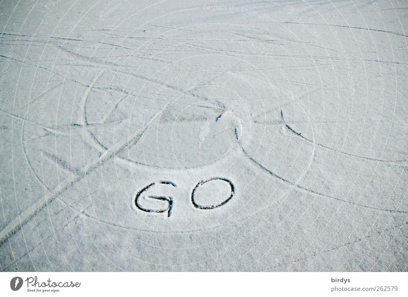 White Winter Black Snow Movement Bright Line Ice Beginning Free Characters Illuminate Circle Frost Tracks Athletic