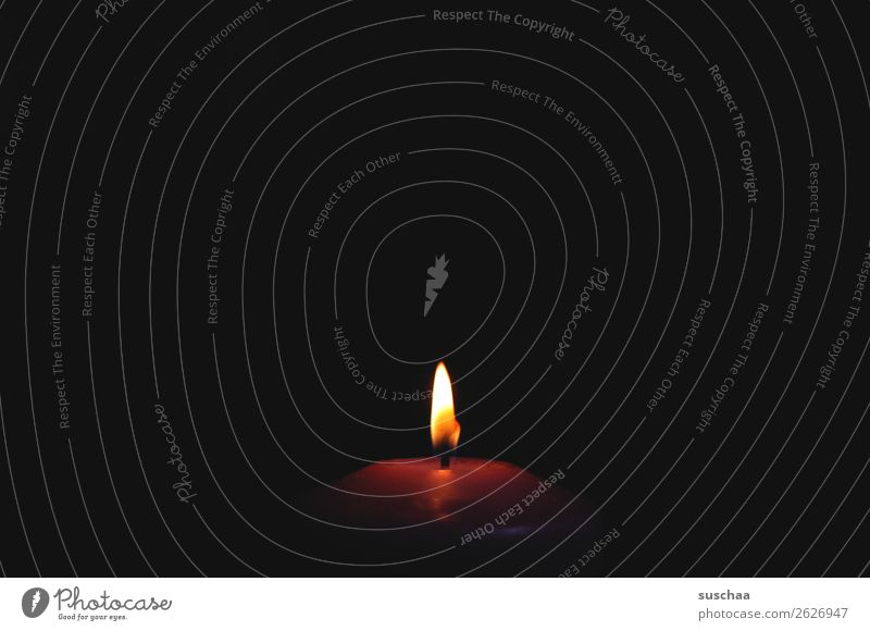 Loneliness Dark Fire Candle Burn Flame Flare Awareness Wick