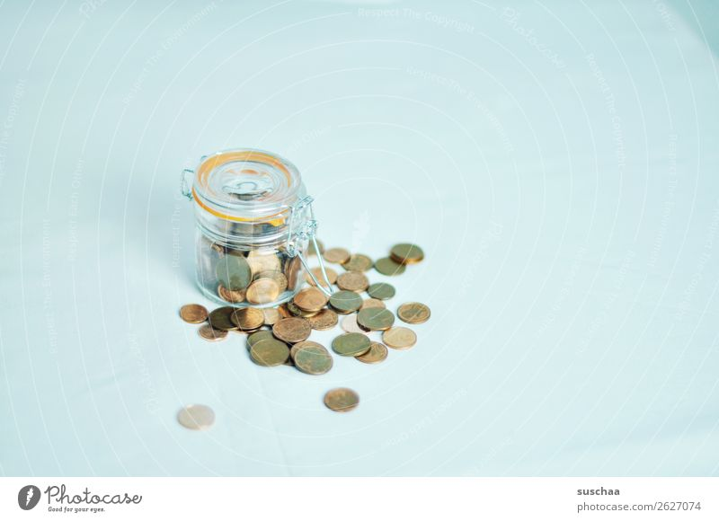 save more Money Coin spared Collection Accumulation Accumulate Save Insolvency Needy lack of money Rich arm assets Few Many Preserving jar rotten Debts Luxury