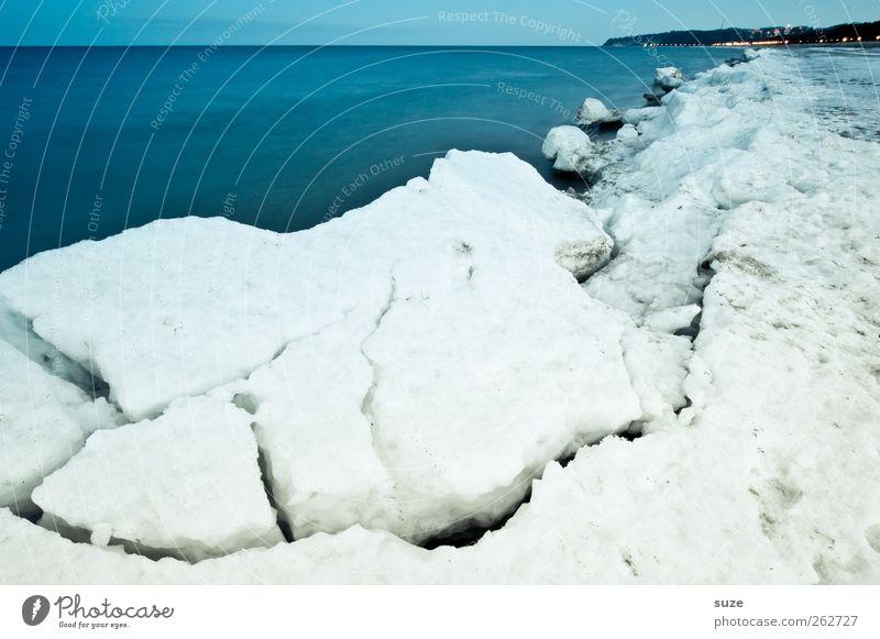 Sky Nature Blue White Ocean Beach Winter Landscape Environment Cold Snow Coast Horizon Ice Exceptional Weather