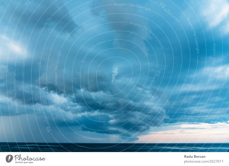 Storm Clouds Gathering Over Ocean Sky Passion Background picture Dark