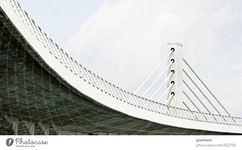 City Architecture Bridge Traffic infrastructure Curve Overpass