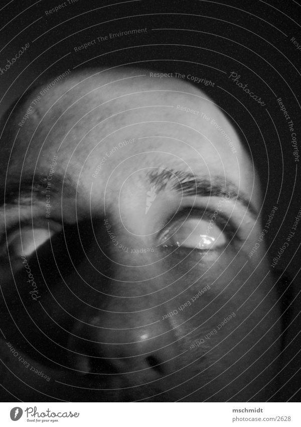 doc death? Human being Eyes Fear Death Black & white photo