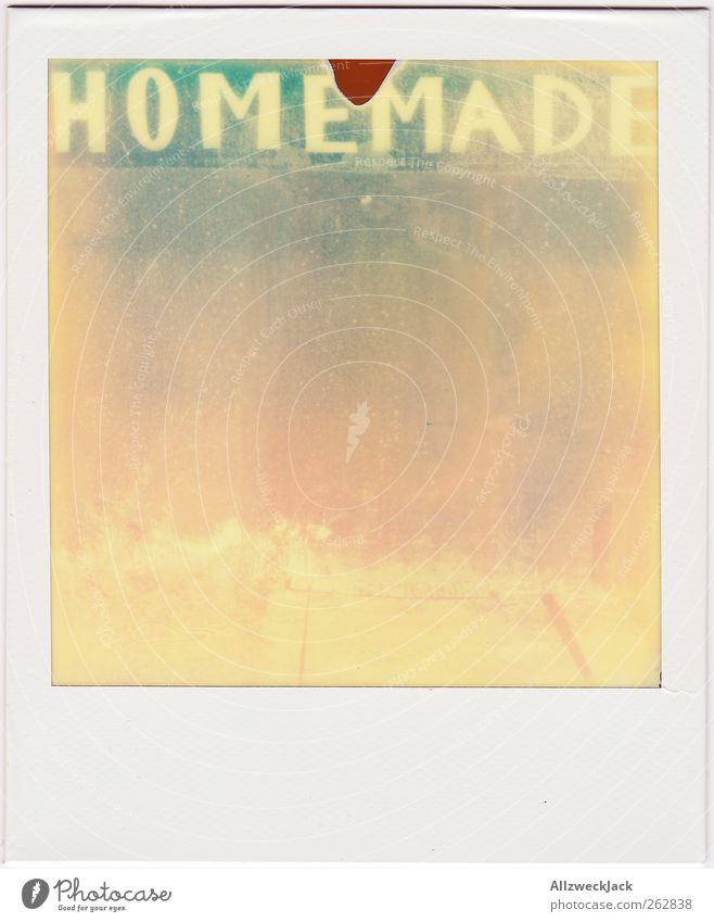 by Mommy Characters Graffiti Old Esthetic Retro Tradition Housekeeping Handcrafts homemade hand made Colour photo Exterior shot Polaroid Deserted Morning Day