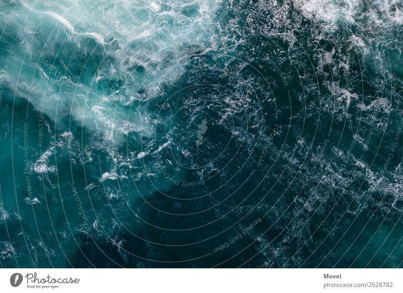 Nature Blue Water Ocean Cold Coast Waves Esthetic Island Adventure Dangerous Italy Climate Surface of water Aggression Climate change
