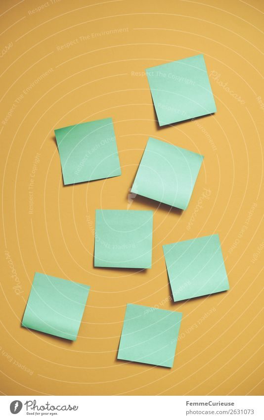 Green Yellow Creativity Empty Paper Piece of paper Stationery Brainstorming