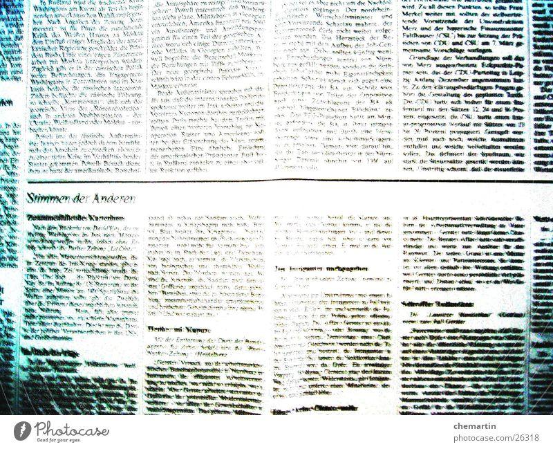 White Black Paper Reading Newspaper Side Magazine Print media
