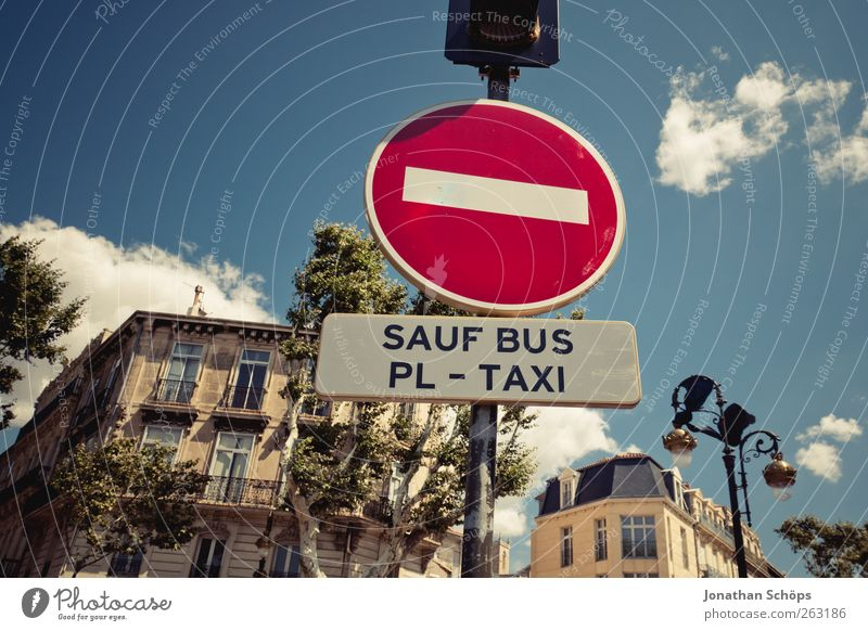 SAUF BUS Town Downtown Facade Transport Traffic infrastructure Public transit Street Road sign Taxi Bus Bans Drinking Demand Narbonne France Southern France