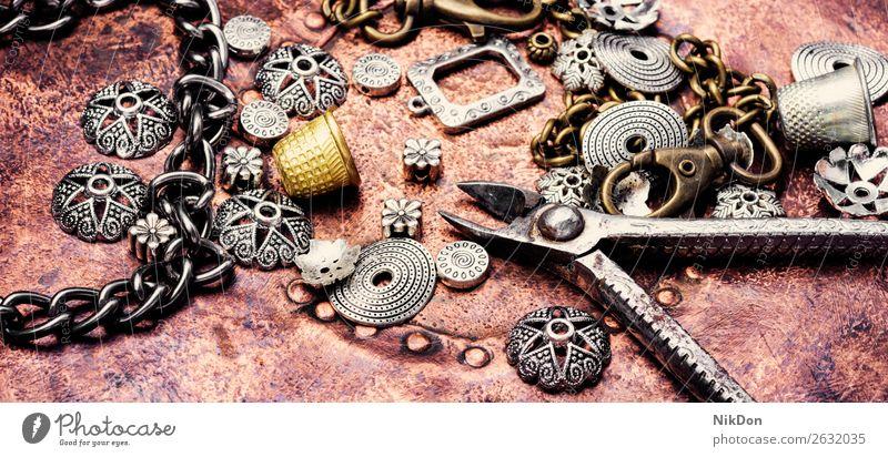 Jewelry and bijouterie jewellery handmade jewelry craft tool necklace hobby chain design button needlework fashion bead vintage bracelet equipment handicraft