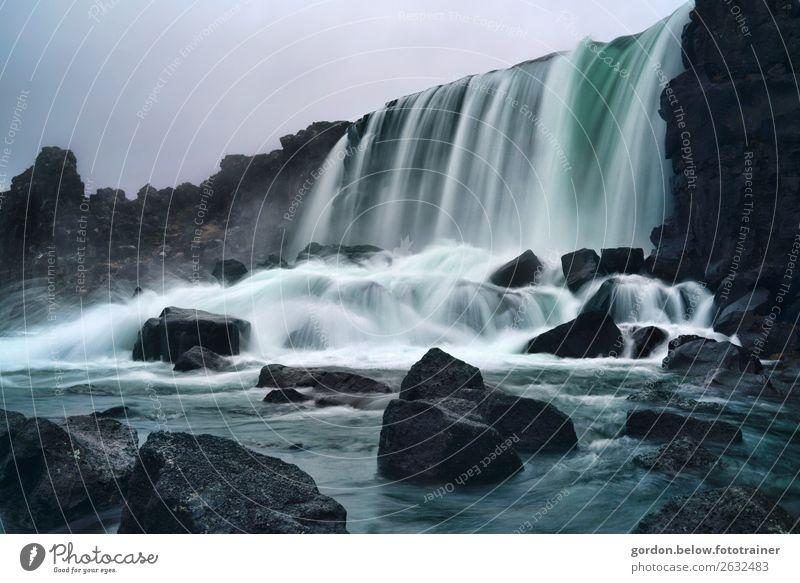 Sky Nature Summer Plant Blue Water Landscape White Black Movement Stone Gray Rock Air Joie de vivre (Vitality) Fantastic