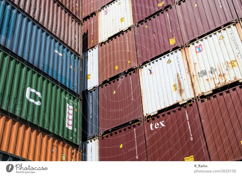 """Containers in the Port of Hamburg Internet Navigation Inland navigation Container ship Shopping """"container Business cargo contacnterminal container port"""