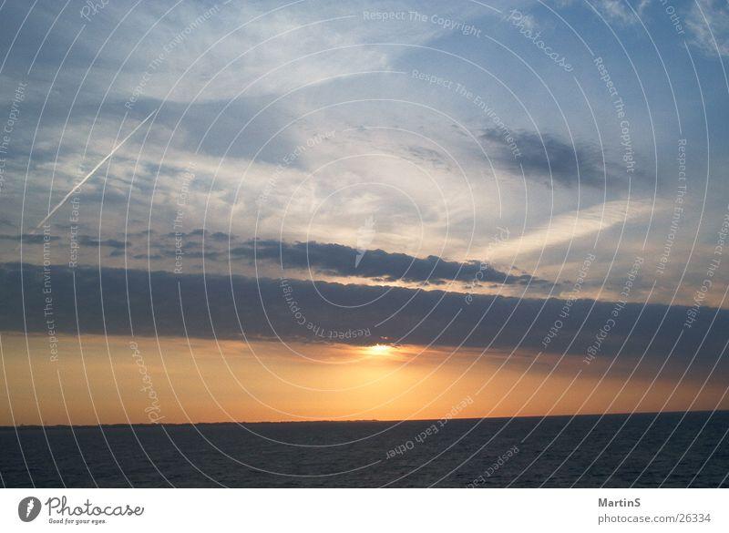 Water Sky Sun Ocean Clouds Baltic Sea