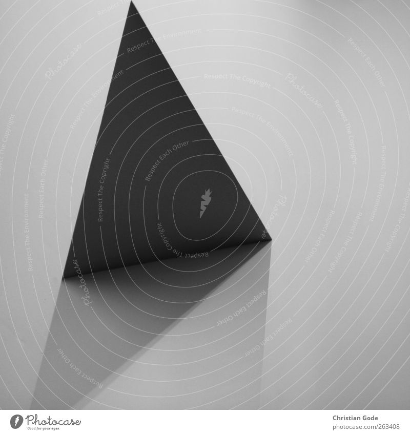 White Black Gray Exceptional Diagonal Square Visual spectacle Triangle Shadow play Gray scale value