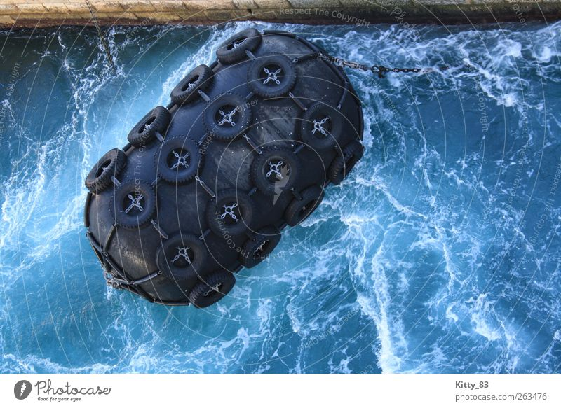 Blue Water White Ocean Black Dark Cold Movement Stone Metal Waves Power Swimming & Bathing Wet Large Dangerous