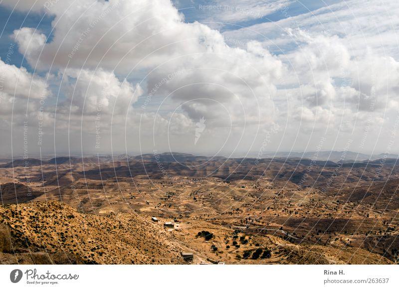 Sky Nature Vacation & Travel Clouds Far-off places Landscape Autumn Mountain Horizon Wind Climate Natural Adventure Tourism Travel photography Desert