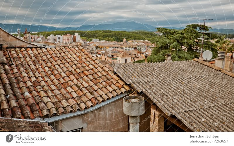 Girona II Trip Adventure Far-off places Freedom City trip Spain Catalonia Town Outskirts House (Residential Structure) Manmade structures Building Architecture