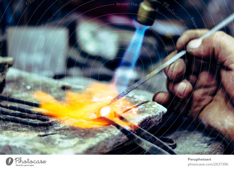 Master soldering jeweller ornament. Design Table Work and employment Craftsperson Industry Craft (trade) Tool Human being Hand Fingers Art Culture Jewellery