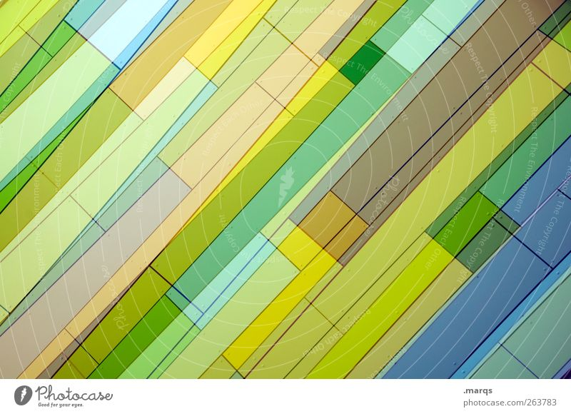 multi-layered Lifestyle Elegant Style Design Art Facade Line Stripe Exceptional Fresh Hip & trendy Uniqueness Beautiful Yellow Green Colour Background picture