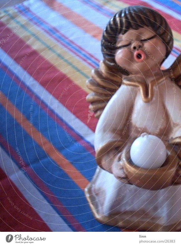 Christmas angel Candle Living or residing Christmas & Advent Angel Tablecloth